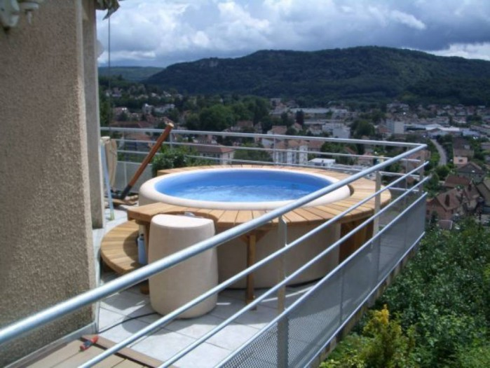 Installer un spa sur un balcon - Spa terrasse appartement ...